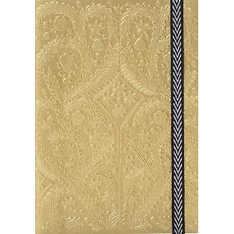 Gold A5 Paseo Notebook by Lacroix Christian