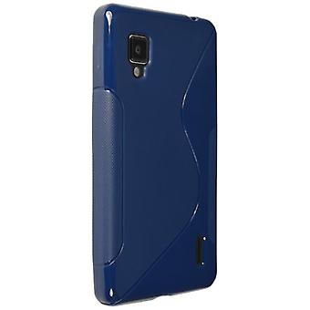 Technocel Slider Skin with Ying Yang Pattern for LG LS971 - Blue