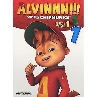 Alvin & the Chipmunks: Season 1 - Vol 1 [DVD] USA import