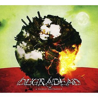 Degradead - verden Destroyer [CD] USA importerer