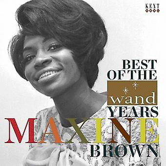 Maxine Brown - Best of the Wand Years [CD] USA import