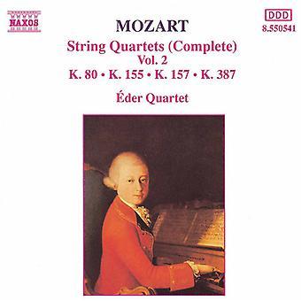 W.a. Mozart - Mozart: quatuors à cordes (complet), Vol. 2 [CD] USA import