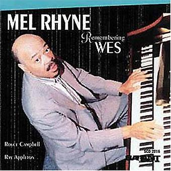 Melvin Rhyne - huske Wes [CD] USA import