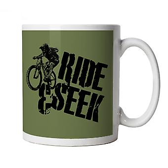 Vectorbomb, Ride & Seek, Mountain Bike Mug