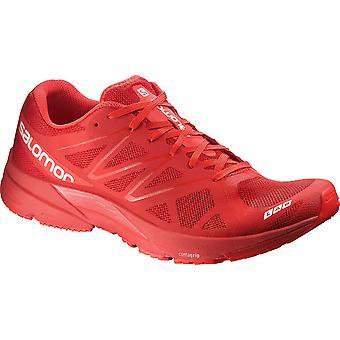 Salomon unisex running shoe lightweight Sonic red - 379459