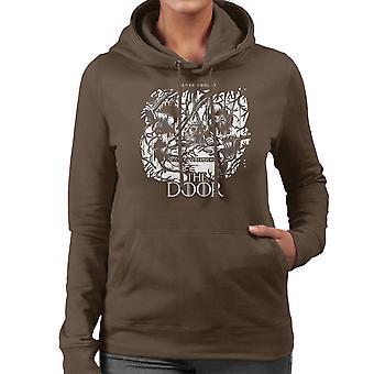 Hodor Hold The Door Game Of Thrones Scene Women's Hooded Sweatshirt