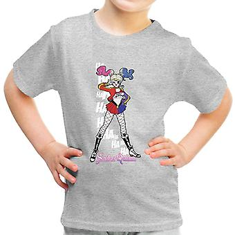 Sailor Quinn Harley Moon Suicide Squad Kid's T-Shirt