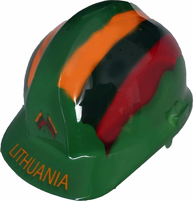 Lithuania Themed Hard Hat