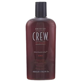 American Crew 3in1 450 Ml (Homme , Entretien du Cheveu , Shampooings )