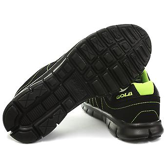 Gola Termas Black/Lime Mens Fitness Trainers