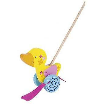 Goki Duck, push-along animal, Susibelle (Toys , Preschool , Babies , Push And Pull Toys)
