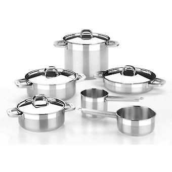 Bra 7 Piece Stainless Steel Advance. Suitable Induction