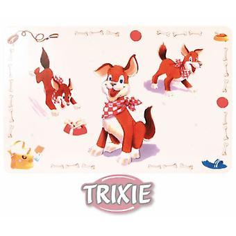 Trixie Place Mat Comic Dog 56x38 Cm. (Dogs , Bowls, Feeders & Water Dispensers)