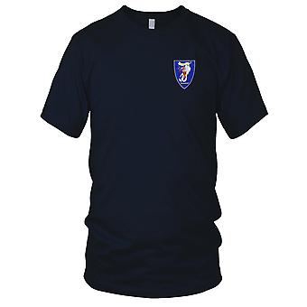 US Navy RIVDIV 53 River Division Embroidered Patch - Mens T Shirt
