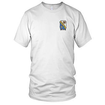 E.U. estação de comunicação Naval da Marinha Kodiak Alaska bordada Patch - Mens T-Shirt