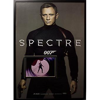 James Bond Spectre - Signed Photo in Movie Poster