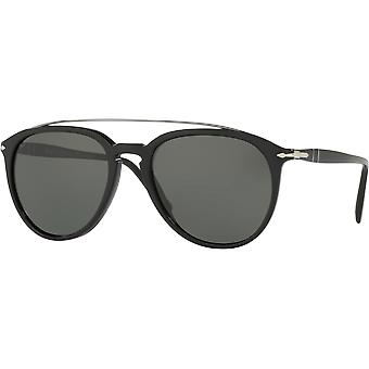 Persol 3159S Black polarisert Green