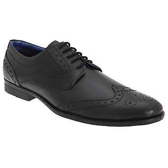 Route 21 Mens Brogue Gibson Shoes