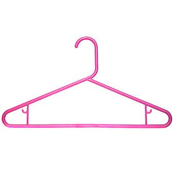 50 x Caraselle Robust Pink Polypropylene Suit Hanger 42cm wide