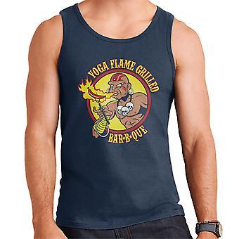 Street Fighter Dhalsim Yoga Flame Grilled BBQ Men's Vest