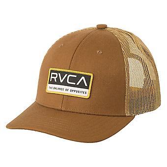 RVCA Reno Trucker Cap - Brown