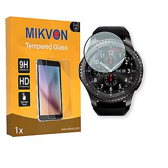 Samsung Gear S3 Frontier Screen Protector - Mikvon flexible Tempered Glass 9H (Retail Package with accessories)