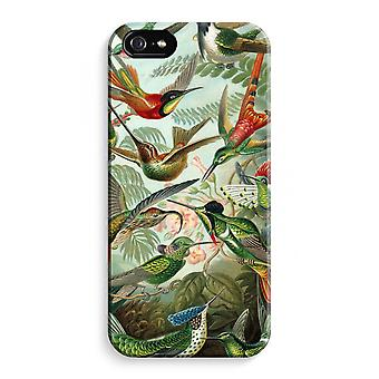 iPhone 5 / 5S / SE Full Print Case (Glossy) - Haeckel Trochilidae