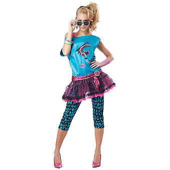 Valley Girl 1980s 80s Disco Pop Star Katy Perry Cindy Lauper Womens Costume
