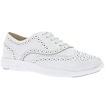 CAPRICE leather Budapest ladies white