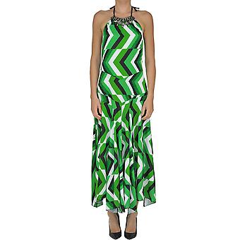 Elena Ferrè women's MCGLVS003232E multicolour polyester dress