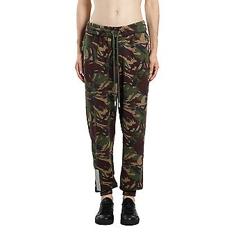 Off-white men's OMCH007S186000229901 green cotton joggers