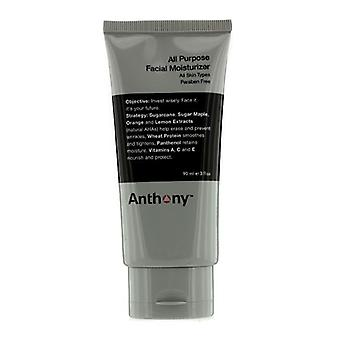 Anthony Logistics para hombres de uso crema hidratante Facial 90ml / 3oz