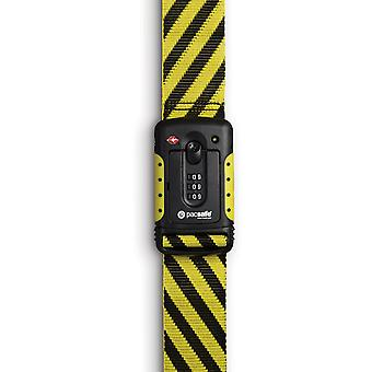 Pacsafe Strapsafe 100 Luggage Strap - Yellow