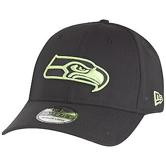 New era 39Thirty Cap - NFL Seattle Seahawks black