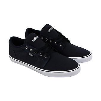 ETNIES Division Mens Bleu Canvas Sneakers lacent vers le haut de chaussures de Skate