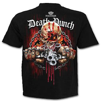 Spiral - FIVE FINGER DEATH PUNCH - ASSASSIN - Men's T-Shirt Black