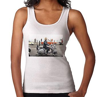 Sting On A Moped In Quadrophenia Women's Vest