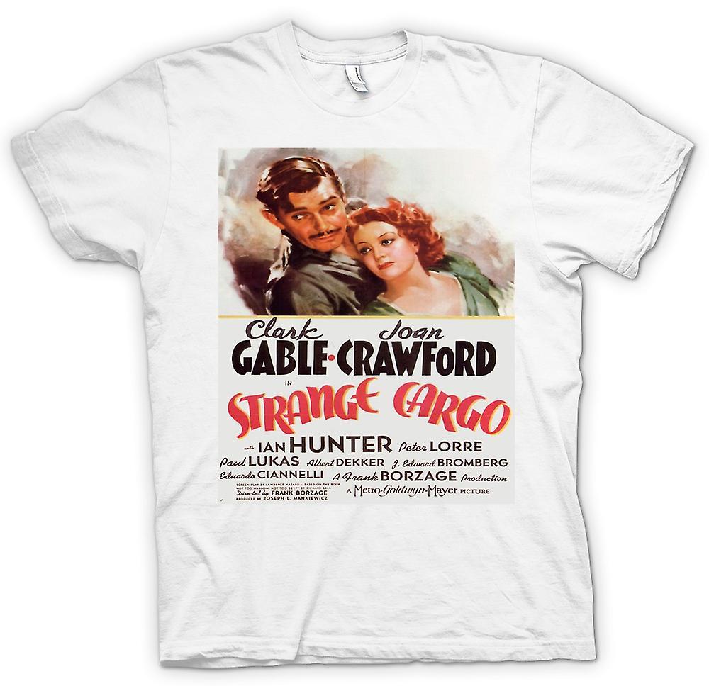 Cartel de la película clásica de mens t-shirt - extraña carga-