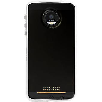 Case-Mate Naked Tough Shock-absorbing Bumper Case for Moto Z Force Droid - Clear