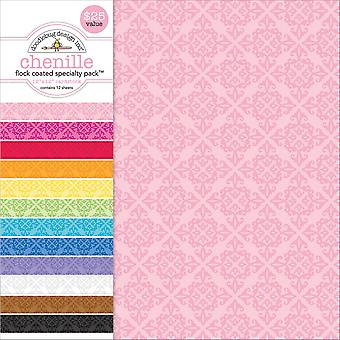 Doodlebug Specialty Cardstock Value Pack 12