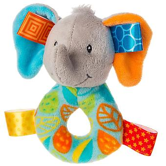 Taggies Little Leaf Elephant Rattle