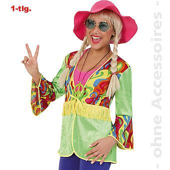 Hippy Lady costume 60s hippie jacket flower child peace ladies costume