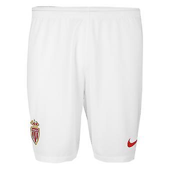 2018-2019 Монако дома футбола Nike шорты (дети)