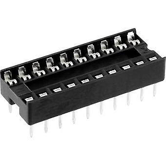 econ connect ICF 20 IC socket Contact spacing: 7.62 mm Number of pins: 20 1 pc(s)