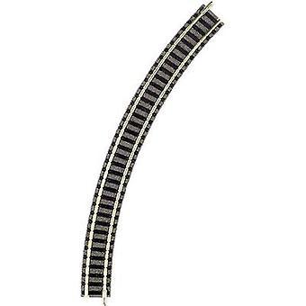 N Fleischmann piccolo (incl. track bed) 9125 Curve 45 ° 225.6 mm