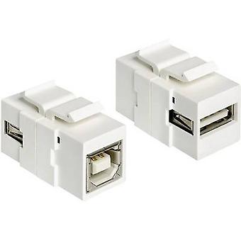 Delock USB 2.0 Adapter [1x USB 2.0 port A - 1x USB 2.0 port B] 1982627
