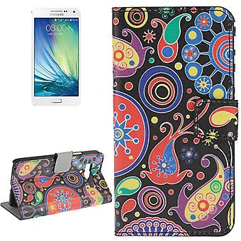 Dække mobiltelefon sag (flip cross) for mobile Samsung Galaxy A3 A300F abstrakt motiv
