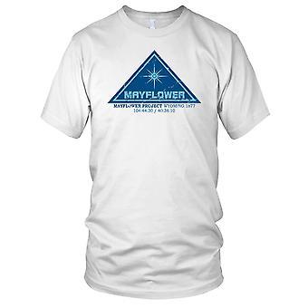 Mayflower-Projekt nahe Begegnungen Damen T Shirt