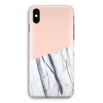 iPhone XS Full Print Case (Glossy) - A touch of peach