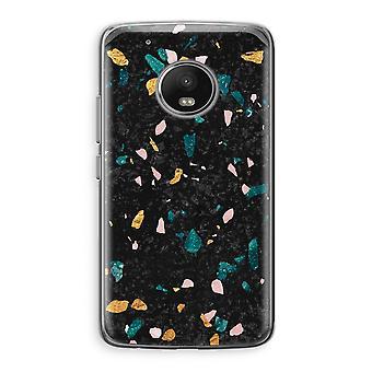 Motorola Moto G5 Transparent Case (Soft) - Terrazzo N°10